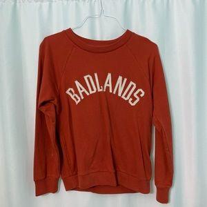 j. crew badlands sweatshirt (NWOT)